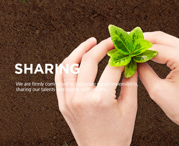 SHARE - Create a society that live together by sharing our capabilities and interests